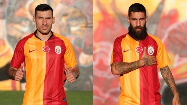 Galatasaray, bonservisi ellerinde olan Jimmy Durmaz ve Şener Özbayraklı'yı transfer ettiğini resmen açıkladı. - Sputnik Türkiye