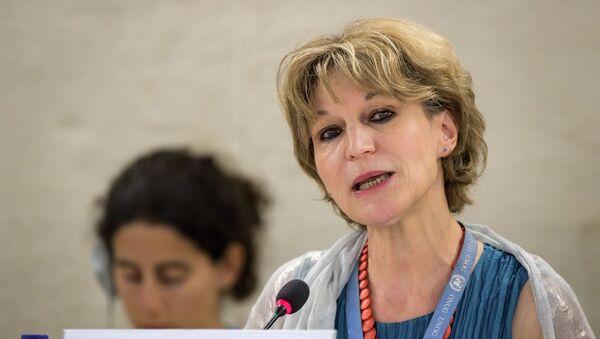 Birleşmiş Milletler (BM) Özel Raportörü Agnes Callamard - Sputnik Türkiye