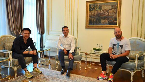 Ekrem İmamoğlu, Gökhan Özoğuz, Hakan Özoğuz - Sputnik Türkiye