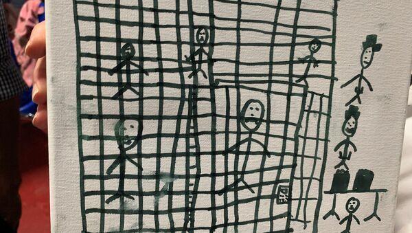 Göçmen çocukların gözünden ABD'nin gözaltı merkezleri - Sputnik Türkiye