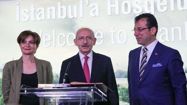 Kemal Kılıçdaroğlu, Ekrem İmamoğlu, Canan Kaftancıoğlu - Sputnik Türkiye