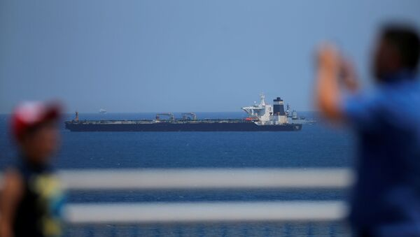 İran İngiltere Cebelitarık petrol tankeri - Sputnik Türkiye