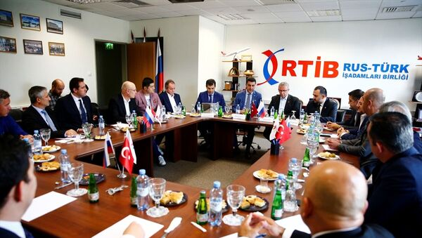 Rus-Türk İş Adamları Birliği (RTİB)  - Sputnik Türkiye