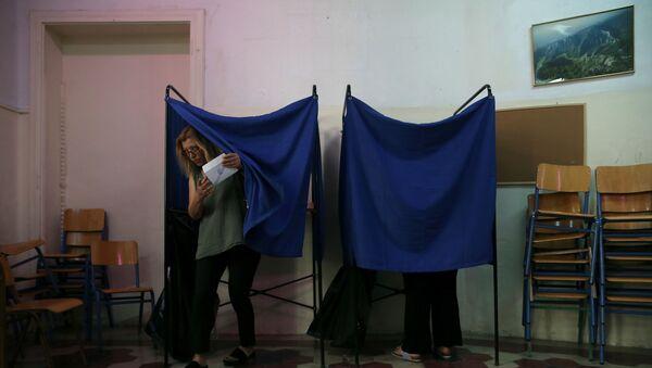 Yunanistan, genel seçim - Sputnik Türkiye