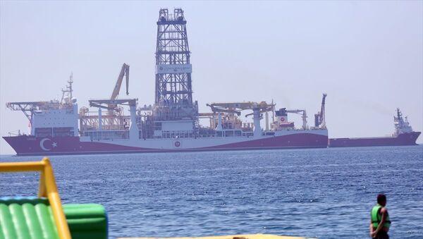Yavuz sondaj gemisi - Sputnik Türkiye