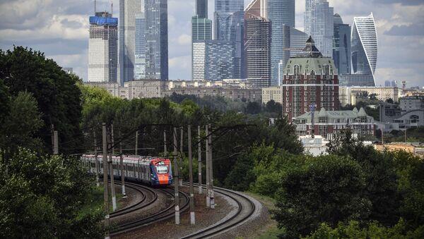 Rusya Moskova tren - Sputnik Türkiye