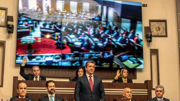 Mesrur Barzani - Kubat Talabani - Sputnik Türkiye