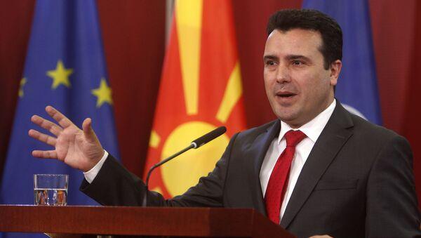 Kuzey Makedonya Başbakanı Zoran Zayev - Sputnik Türkiye