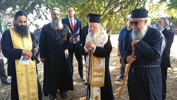 Şarköy'deki manastıra ilk kez metropolit atandı: Yeni Zelanda'dan geldi - Sputnik Türkiye
