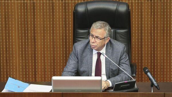 Ankara Büyükşehir Belediye Meclisinin, temmuz ayı üçüncü oturumu Başkan Mansur Yavaş başkanlığında gerçekleştirildi.  - Sputnik Türkiye