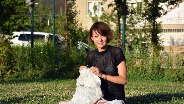 33 yaşındaki Rus moda tasarımcısı Anita Grey - Sputnik Türkiye