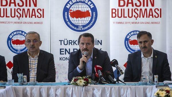 Memur Sendikaları Konfederasyonu (Memur-Sen) Genel Başkanı Ali Yalçın - Sputnik Türkiye