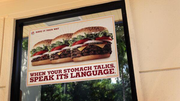 ABD Miami Burger King restoranı - Sputnik Türkiye