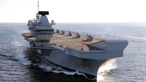 HMS Queen Elizabeth - Sputnik Türkiye