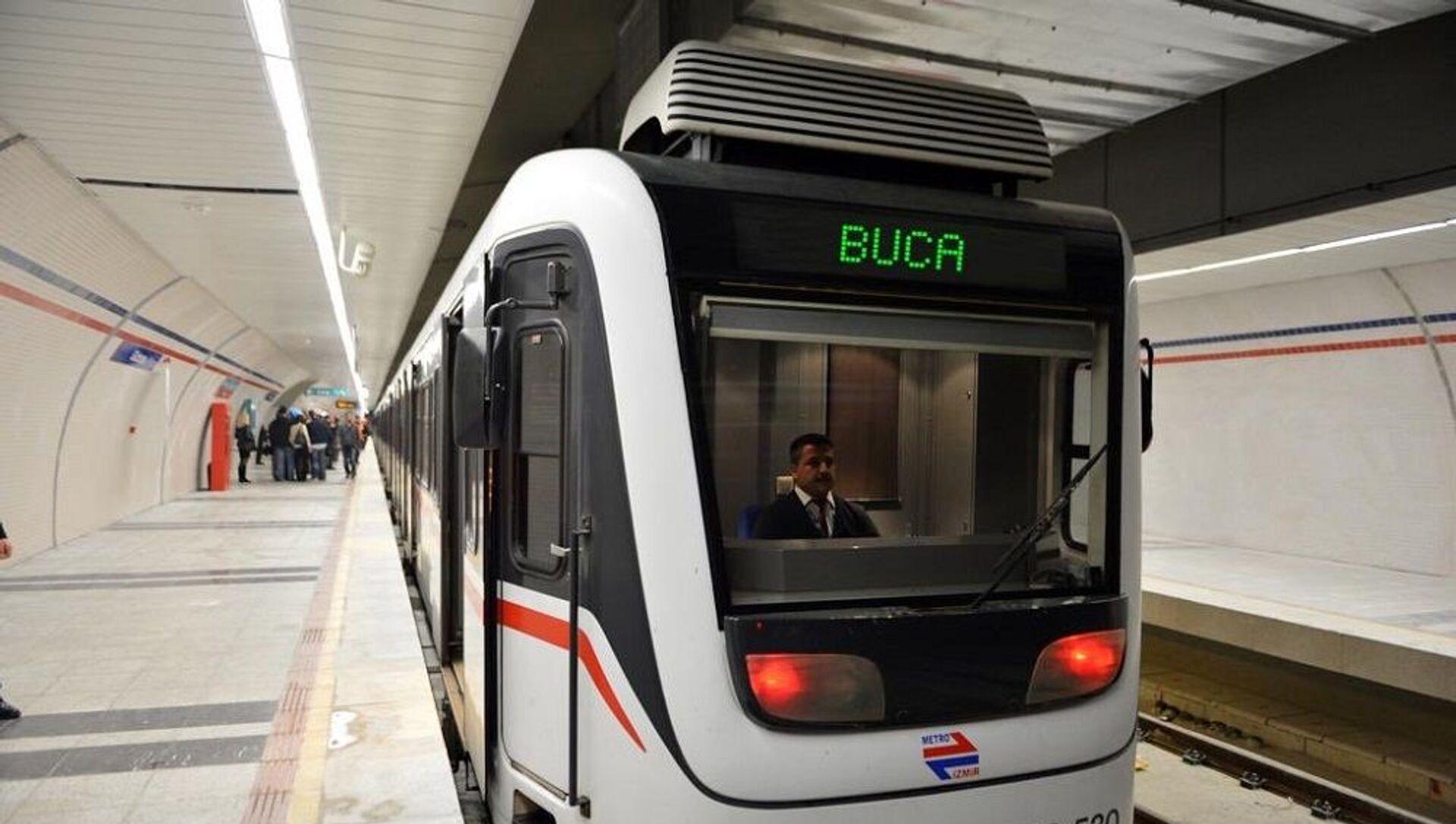 Buca, metro - Sputnik Türkiye, 1920, 29.07.2021