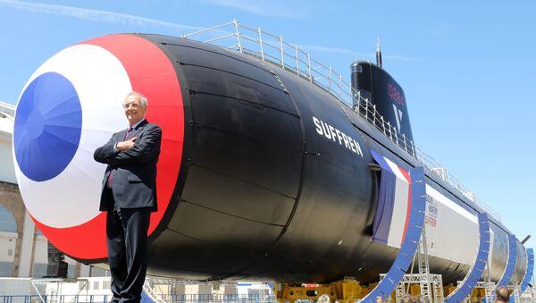 Fransa, yeni nükleer denizaltısının açılışını yaptı - Sputnik Türkiye