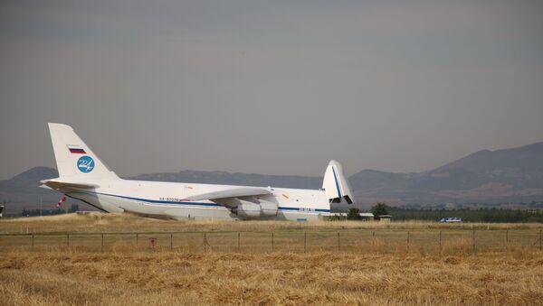 S-400 teslimatında beşinci uçak Mürted'e indi - Sputnik Türkiye