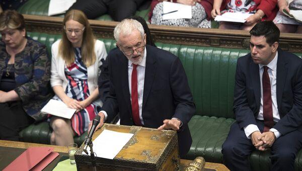 İngiltere İşçi partisi Lideri Jeremy Corbyn - Sputnik Türkiye
