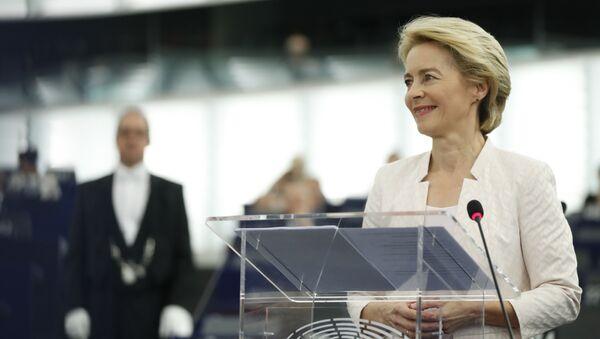 Ursula Von der Leyen - Sputnik Türkiye