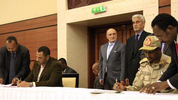 Sudan'da taraflar geçiş dönemi için siyasi belgeyi imzaladı - Sputnik Türkiye