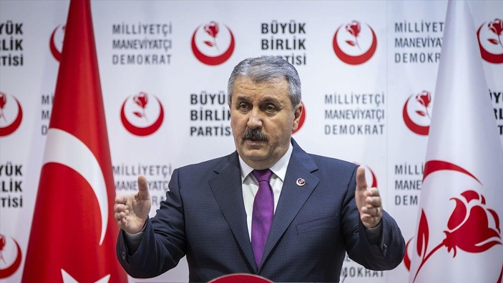 Mustafa Destici - Sputnik Türkiye, 1920, 14.07.2021