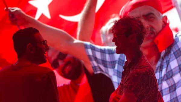 '15 Temmuz Milletin Zaferi' Dijital Gösterim Merkezi'nden kareler - Sputnik Türkiye