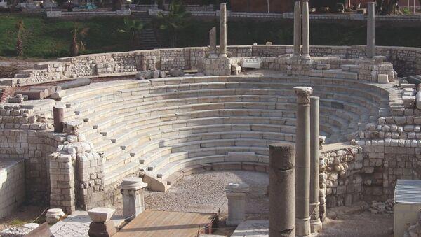 Mısır'ın İskenderiye şehrinde Roma dönemine ait antik bir kentin kalıntıları bulundu. - Sputnik Türkiye