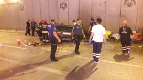 Konya'da iki otomobil çarpıştı: 7 ölü - Sputnik Türkiye