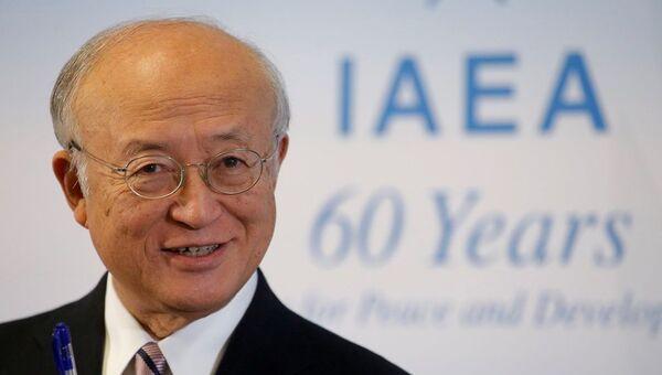 Uluslararası Atom Enerjisi Ajansı (UAEA) Başkanı Yukiya Amano - Sputnik Türkiye