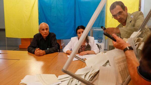 Ukrayna - seçimler - Sputnik Türkiye
