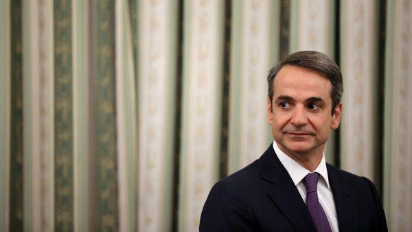 Yunanistan Başbakanı Kiriakos Miçotakis - Sputnik Türkiye