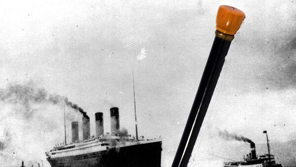 Titanik'ten sağ kurtulan kadının bastonu 62 bin dolara satıldı - Sputnik Türkiye