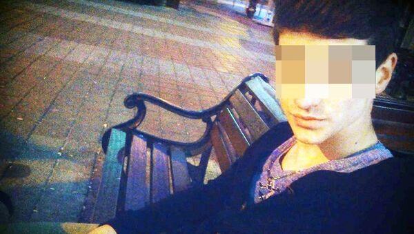 Arkadaşını bıçaklayarak öldüren E.P. - Sputnik Türkiye