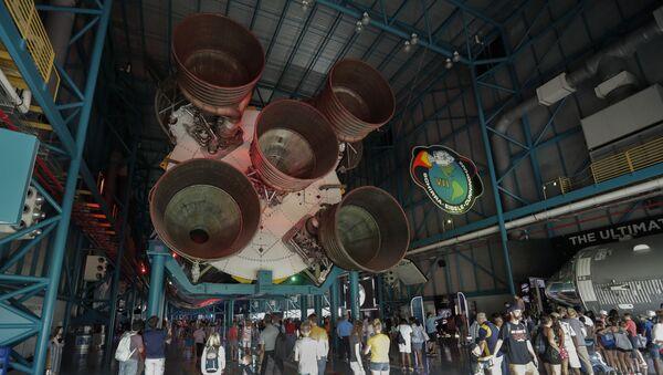 NASA, Saturn, roket - Sputnik Türkiye
