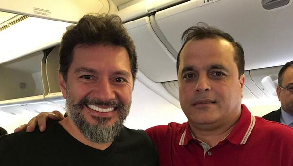 Hakan Atilla'nın uçaktan ilk fotoğrafı - Sputnik Türkiye