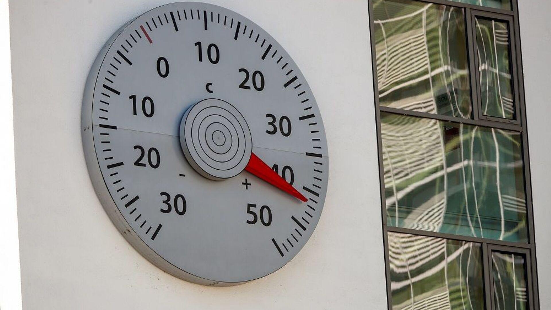 küresel ısınma, termometre, sıcaklık - Sputnik Türkiye, 1920, 17.06.2021