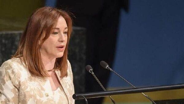 Birleşmiş Milletler (BM) Genel Kurulu Başkanı Maria Fernanda Espinosa - Sputnik Türkiye