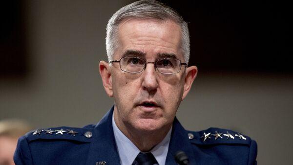 ABD Stratejik Kuvvetler (STRATCOM) Komutanı Orgeneral John Hyten - Sputnik Türkiye