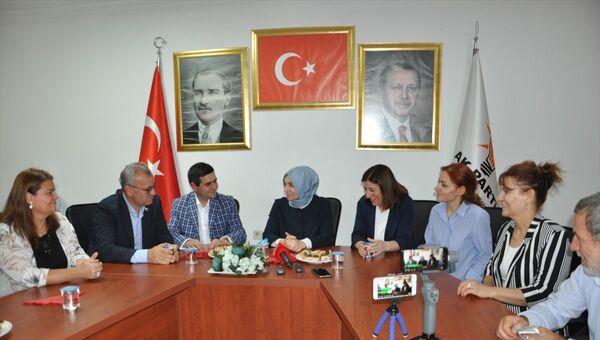AK Parti Genel Başkan Yardımcısı Leyla Şahin Usta - Sputnik Türkiye
