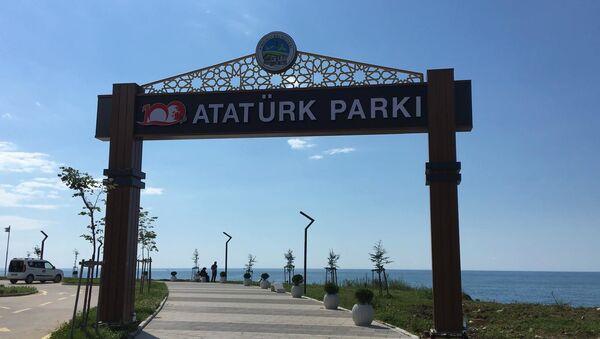 Atatürk Parkı - Rize- Fındıklı - Sputnik Türkiye