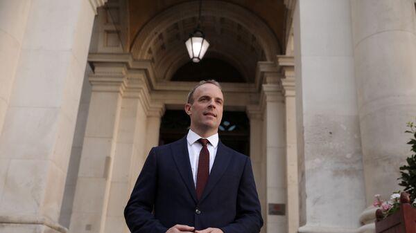 İngiltere Dışişleri Bakanı Dominic Raab - Sputnik Türkiye