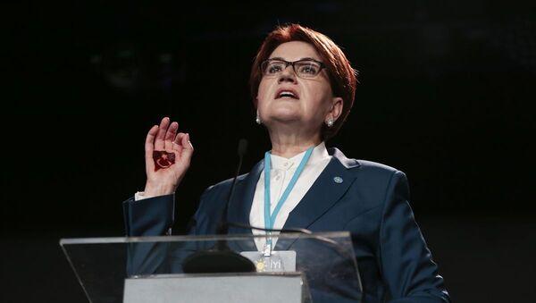 İYİ Parti 4. Olağanüstü Kongresi - Meral Akşener - Sputnik Türkiye