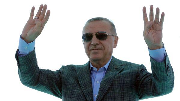 Erdoğan, İstanbul-İzmir otoyolu açılış töreni - Sputnik Türkiye