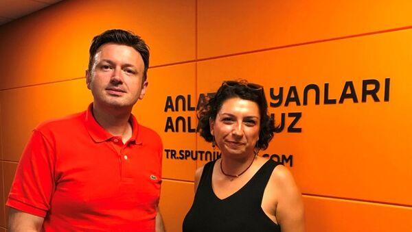 Gazateci Bahar Çuhadar - Sputnik Türkiye