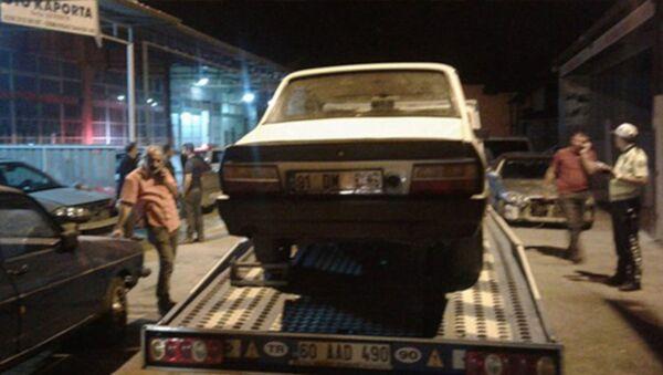 Drift yaptı, arabasının değeri kadar ceza yedi - Sputnik Türkiye