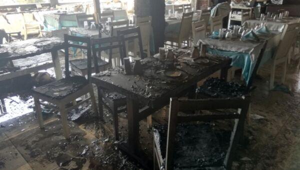 Parasını alamayınca çalıştığı restoranı benzin döküp yaktı - Sputnik Türkiye