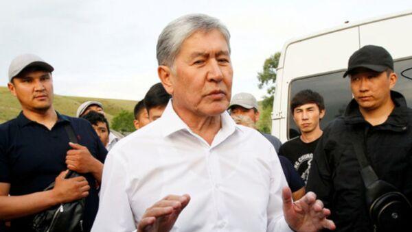 Eski Kırgız lider Atambayev'e gözaltı girişimi - Sputnik Türkiye