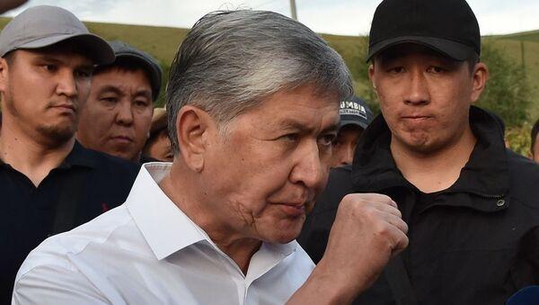 Almazbek Atambayev - Sputnik Türkiye