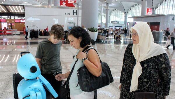 İstanbul Havalimanı- Robot - Sputnik Türkiye