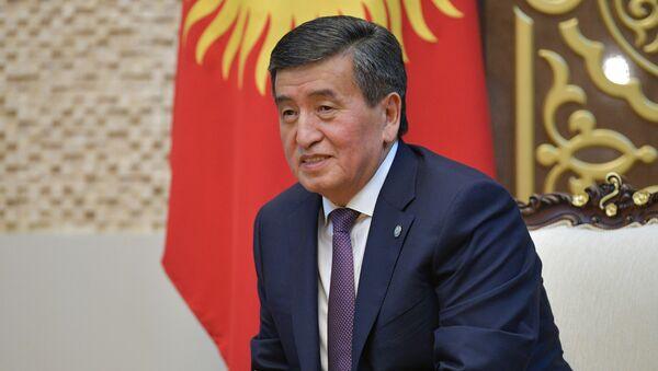 Sooronbay Ceenbekov - Sputnik Türkiye